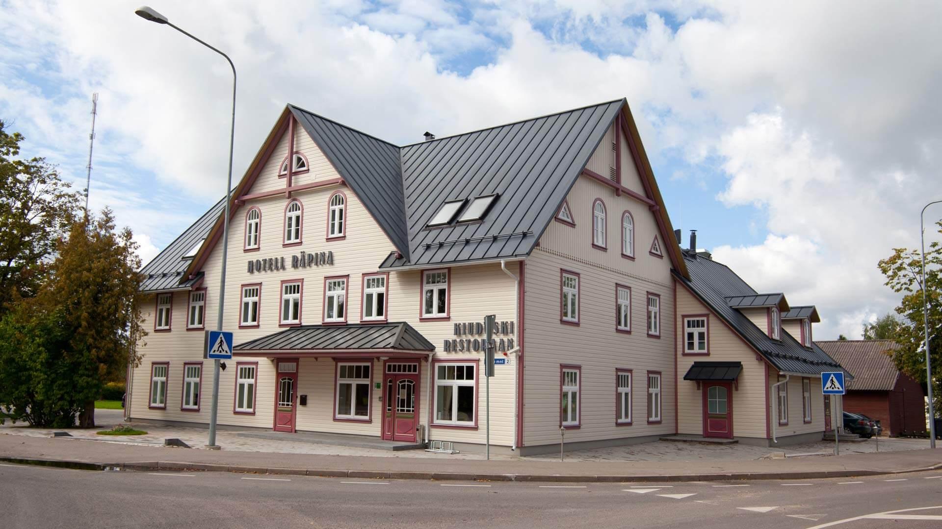 Räpina hotell |Hubane perehotell Räpinas | Kagu-Eesti