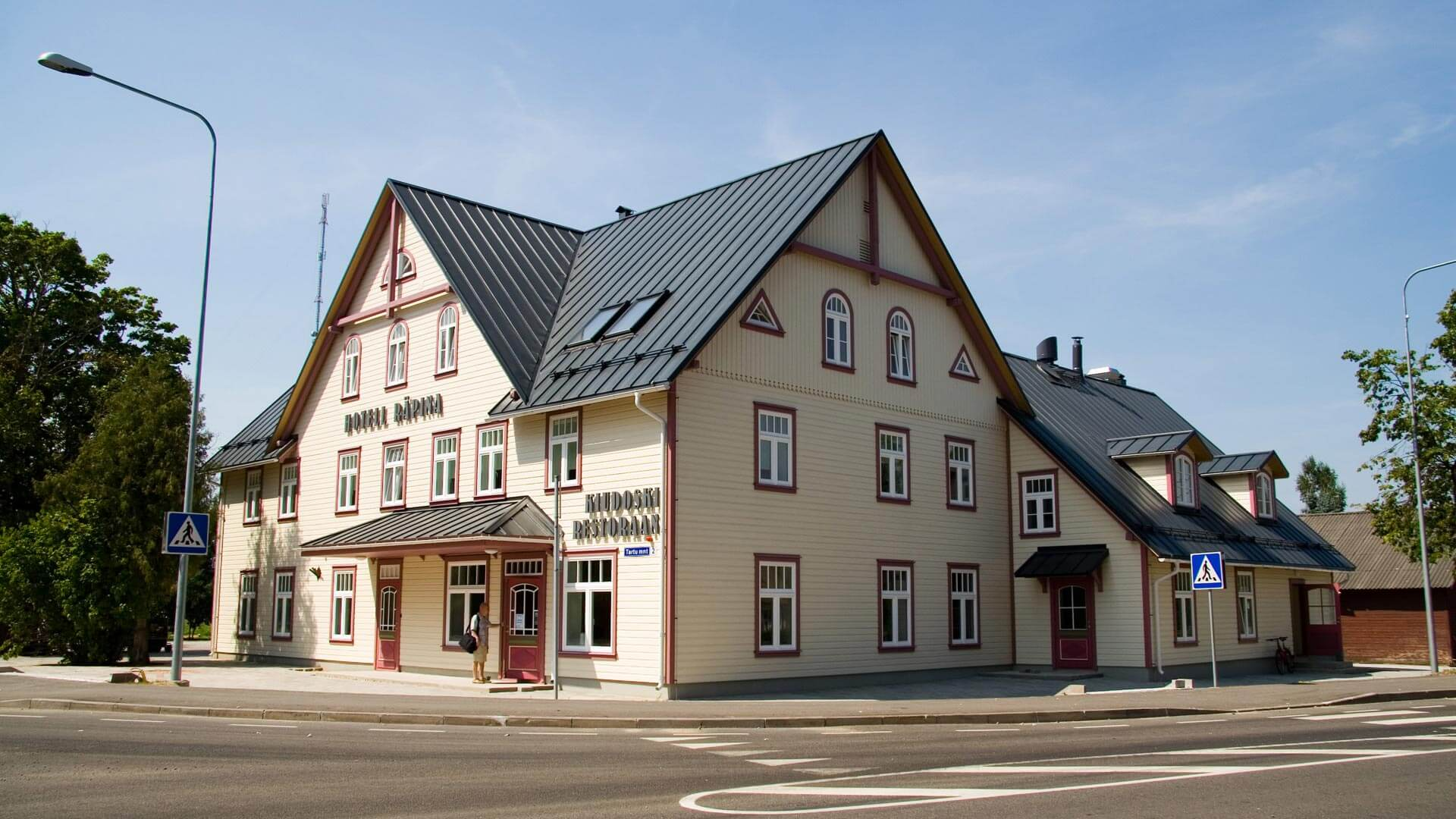 Räpina hotell  Hubane perehotell Räpinas   Kagu-Eesti