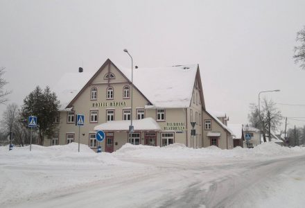 Hotell Räpina talvel