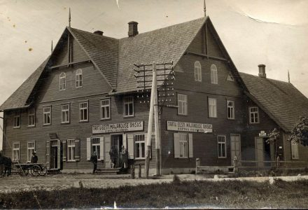 Hoone 1930ndatel |Hotell Räpina