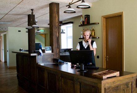 Hotelli vastuvõtt   Hotell Räpina